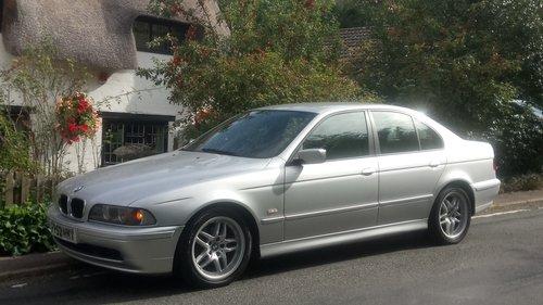 2002 BMW E39 520i ES SE Auto. Leather, split rim Alloys SOLD (picture 1 of 6)