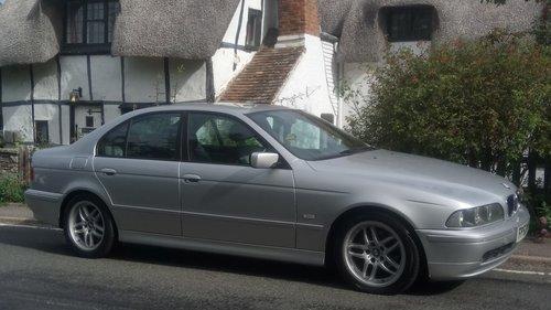2002 BMW E39 520i ES SE Auto. Leather, split rim Alloys SOLD (picture 4 of 6)