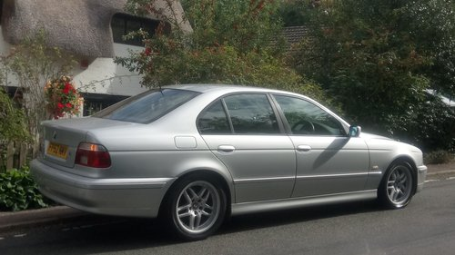 2002 BMW E39 520i ES SE Auto. Leather, split rim Alloys For Sale (picture 6 of 6)