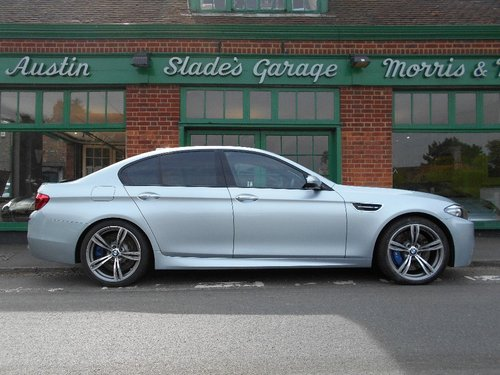 2014 BMW M5 Saloon DCT  SOLD (picture 1 of 4)
