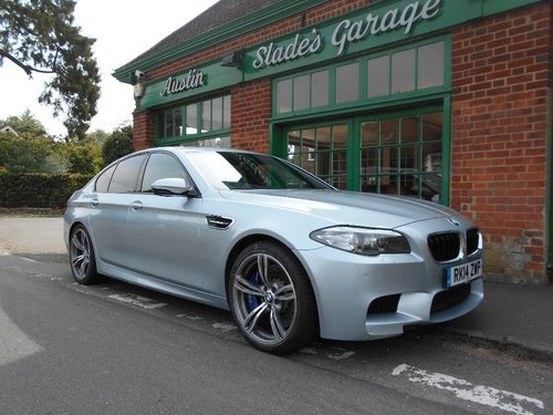2014 BMW M5 Saloon DCT  SOLD (picture 2 of 4)
