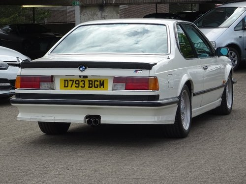 1986 M635 CSI E24 M6 RHD MANUAL For Sale (picture 3 of 6)