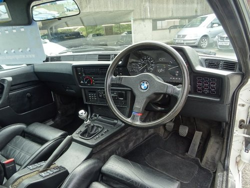 1986 M635 CSI E24 M6 RHD MANUAL For Sale (picture 4 of 6)