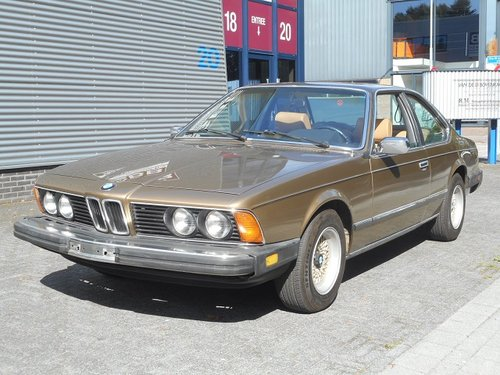 1980 BMW 633 CSi 4-speed transmission For Sale (picture 1 of 6)