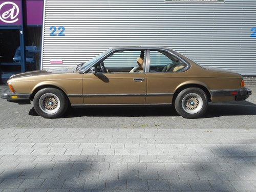 1980 BMW 633 CSi 4-speed transmission For Sale (picture 6 of 6)
