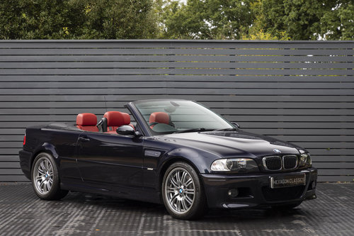2003 BMW M3 3.2 E46 CONVERTIBLE SMG SOLD (picture 1 of 6)