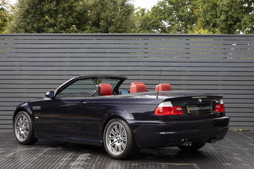 2003 BMW M3 3.2 E46 CONVERTIBLE SMG SOLD (picture 2 of 6)