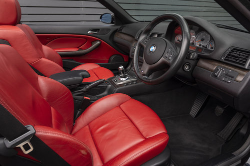 2003 BMW M3 3.2 E46 CONVERTIBLE SMG SOLD (picture 5 of 6)