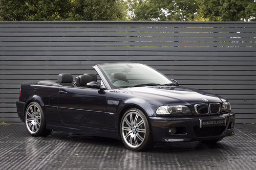 2006 BMW M3 3.2 E46 CONVERTIBLE SOLD (picture 1 of 6)
