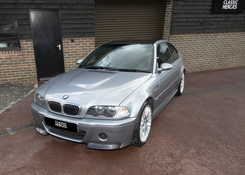 2005 BMW E46 M3 CSL Only 35,300 miles For Sale (picture 1 of 6)