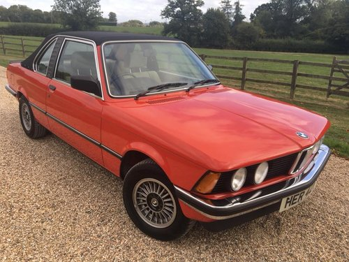 1981 E21  BAUR  CONVERTIBLE  2  OWNERS  39000  MILES  FSH    For Sale (picture 1 of 6)