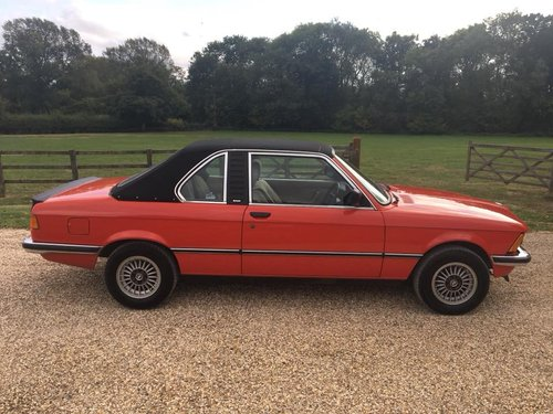 1981 E21  BAUR  CONVERTIBLE  2  OWNERS  39000  MILES  FSH    For Sale (picture 2 of 6)