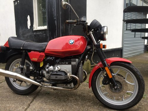 1981 BMW R65. SOLD (picture 1 of 6)
