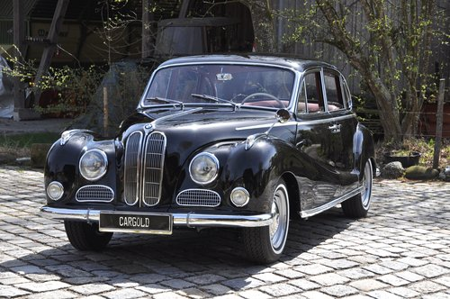1958 BMW 502 3.2l V8, perfectly restored! For Sale (picture 1 of 6)