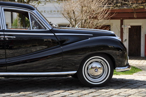 1958 BMW 502 3.2l V8, perfectly restored! For Sale (picture 2 of 6)