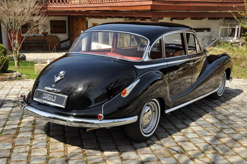 1958 BMW 502 3.2l V8, perfectly restored! For Sale (picture 3 of 6)