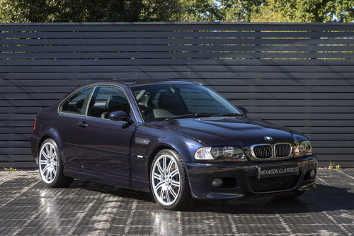 2004 BMW M3 (E46) Coupe Manual ONLY 8,800 Miles SOLD (picture 1 of 6)