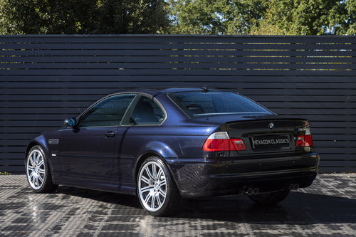 2004 BMW M3 (E46) Coupe Manual ONLY 8,800 Miles SOLD (picture 2 of 6)