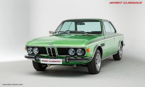 1972 BMW 3.0 CSL UK RHD CSL // Nut and Bolt restoration completed For Sale (picture 2 of 6)