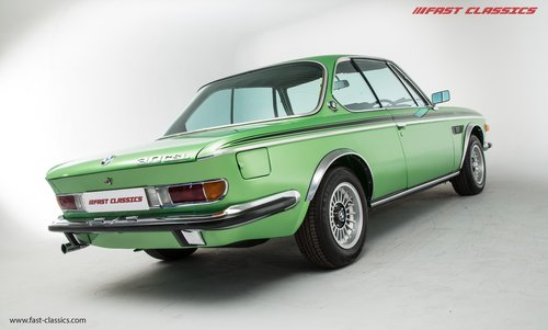 1972 BMW 3.0 CSL UK RHD CSL // Nut and Bolt restoration completed For Sale (picture 3 of 6)