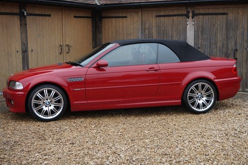 2002 BMW M3 E46 MANUAL RARE IMOLA RED/RED LEATHER 61,000 ...