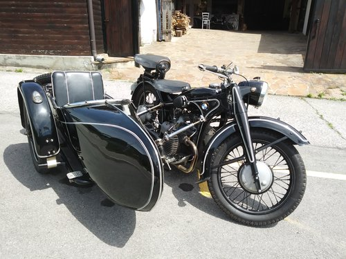 1938 BMW R12 STOE sidecar For Sale (picture 1 of 6)
