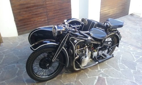 1938 BMW R12 STOE sidecar For Sale (picture 3 of 6)