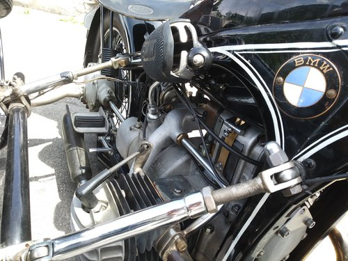 1938 BMW R12 STOE sidecar For Sale (picture 6 of 6)