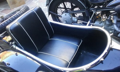 1938 BMW R12 STOE sidecar For Sale (picture 4 of 6)