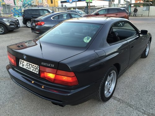 """1991 BMW 850i MANUAL GERABOX """"74.900 KM"""" For Sale (picture 3 of 6)"""