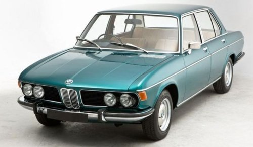1972 IDEAL FOR OLDTIMER RACING - RHD BMW 2500 SOLD (picture 2 of 6)