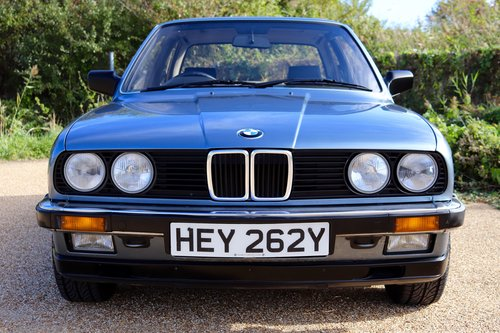 Early 1983 BMW 323i (E30) only 27k miles SOLD (picture 2 of 6)