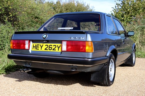 Early 1983 BMW 323i (E30) only 27k miles SOLD (picture 5 of 6)