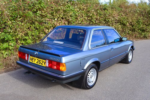 Early 1983 BMW 323i (E30) only 27k miles SOLD (picture 6 of 6)
