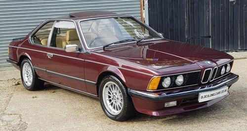 1984 Stunning Bmw E24 635 Csi Rare Manual Years Mot