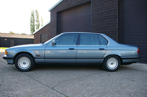 1988 BMW E32 750iL V12 LWB Auto Saloon LHD (21,667 miles) SOLD (picture 1 of 6)