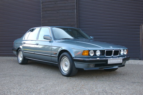 1988 BMW E32 750iL V12 LWB Auto Saloon LHD (21,667 miles) SOLD (picture 2 of 6)