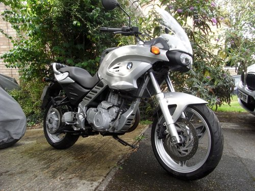 2002 Bmw F650cs Scarver Sold Car And Classic