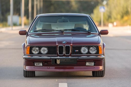 LHD 1985 BMW M635Csi – 286HP– 128.000kms  For Sale (picture 1 of 6)