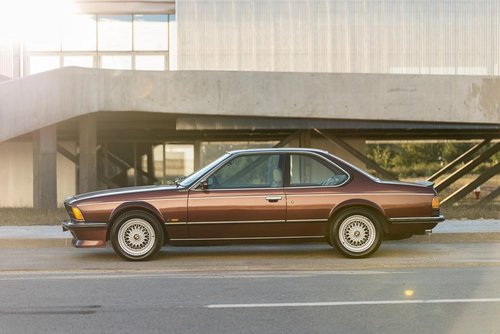 LHD 1985 BMW M635Csi – 286HP– 128.000kms  For Sale (picture 2 of 6)