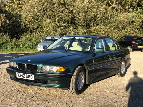 BMW 735 i 1999 V8 Immaculate & 85 k Miles From New For Sale (picture 1 of 6)