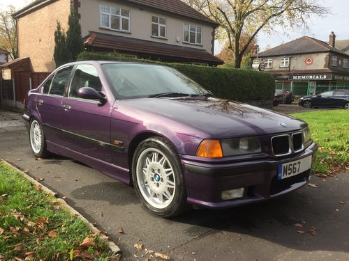 1995 Rare original low mileage BMW M3 3.0 Saloon E36 For Sale (picture 1 of 6)
