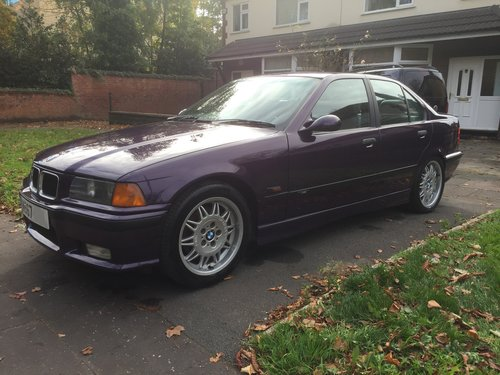 1995 Rare original low mileage BMW M3 3.0 Saloon E36 For Sale (picture 2 of 6)