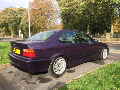 1995 Rare original low mileage BMW M3 3.0 Saloon E36 For Sale (picture 4 of 6)