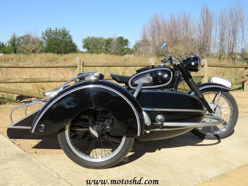 1953 BMW R-51/3 with sidecar For Sale (picture 2 of 6)