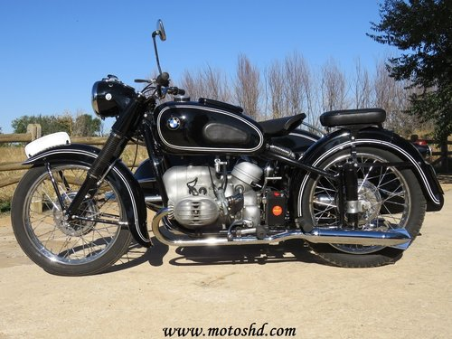 1953 BMW R-51/3 with sidecar For Sale (picture 3 of 6)