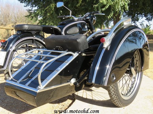 1953 BMW R-51/3 with sidecar For Sale (picture 4 of 6)
