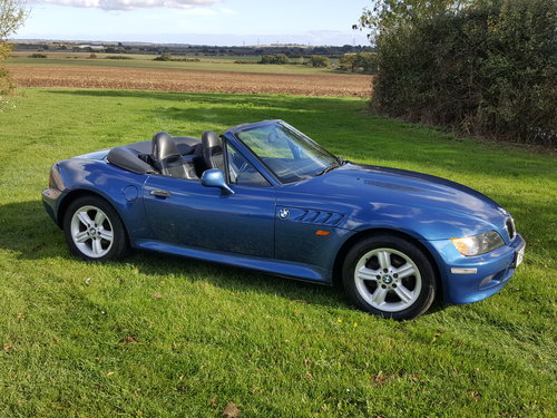 1999 BMW Z3 1.9 Manual. Nice car in good all round condition  For Sale (picture 1 of 6)