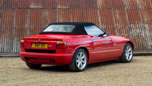 1989 1991 BMW Z1 Roadster SOLD (picture 2 of 6)