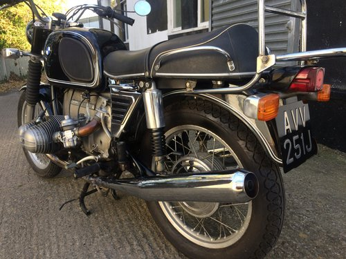 1971 BMW R75/5 short wheel base, matching numbers. SOLD (picture 1 of 6)